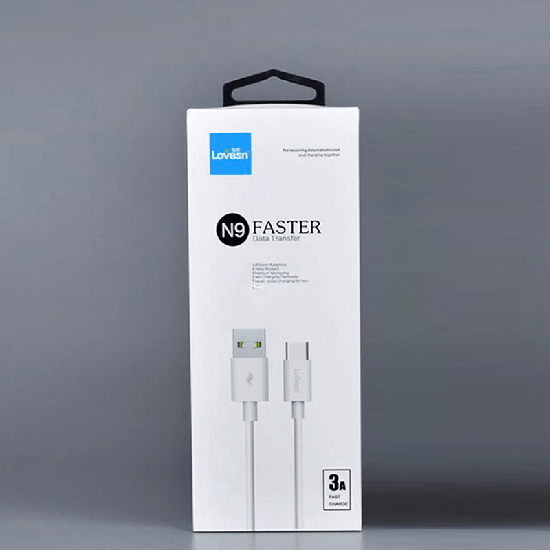 3A Type C Bulk USB Cables Packaging