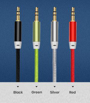 4 Colors Aux Cable in Bulk