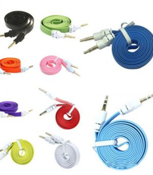 Flat Aux Cables Multi-color