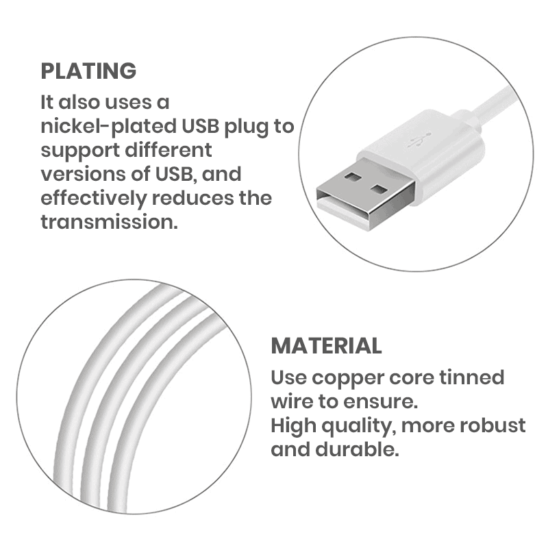 High Quality 3A Universal Cable