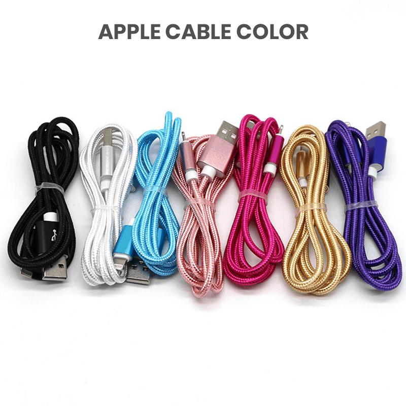 Multi color bulk lighting cables