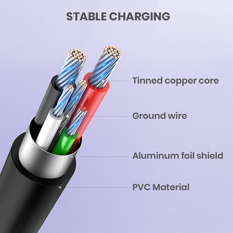 Stable charging cables wholesale