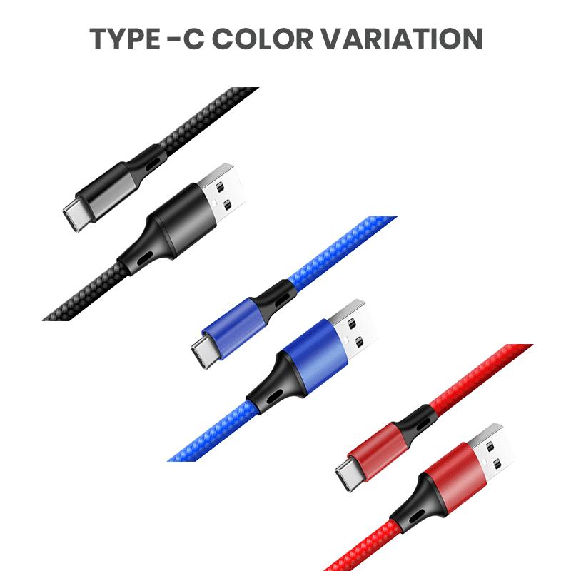 Type-C color variation cables wholesale