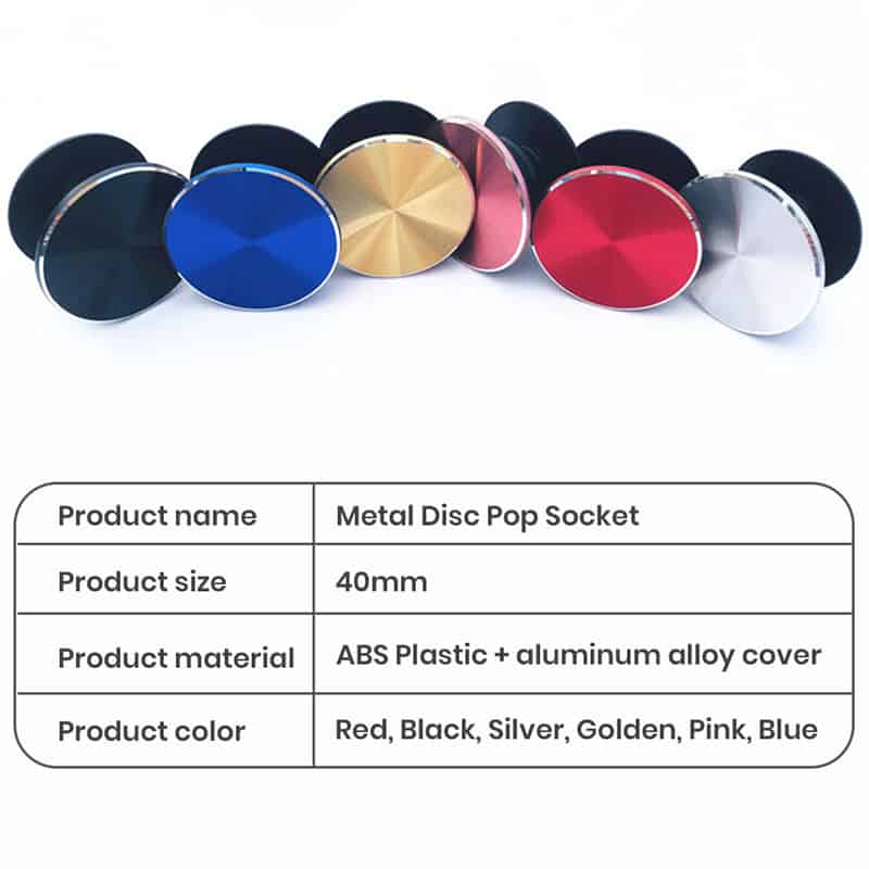 functions of customized popsockets