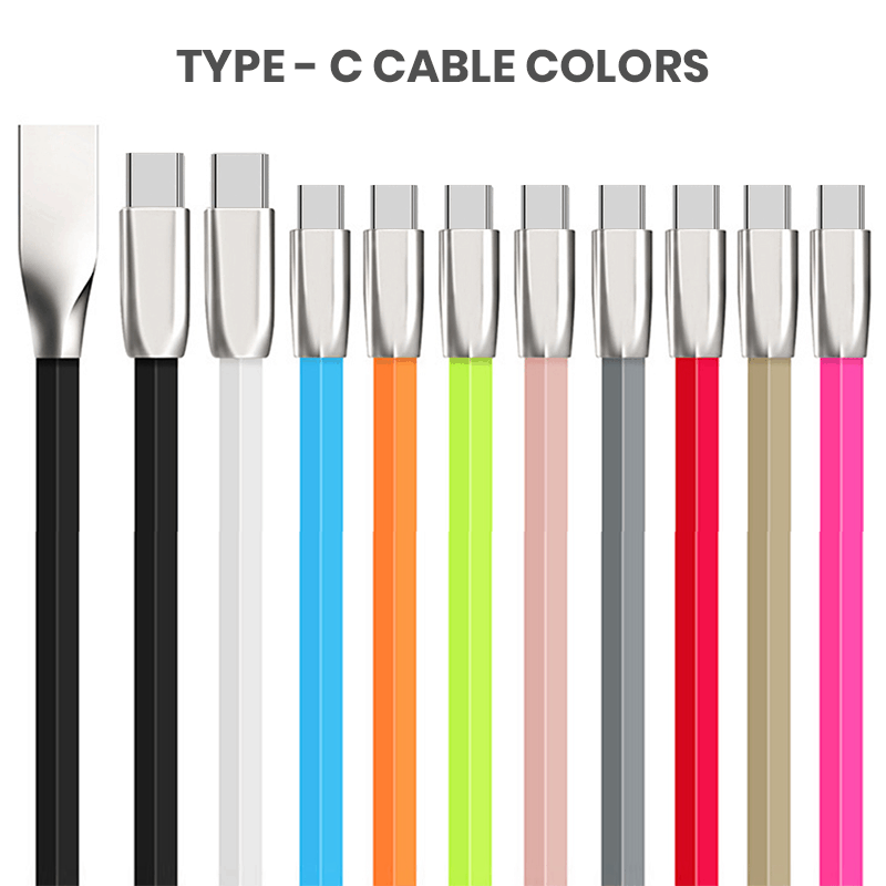 3ft Type C Wholesale Cables Multicolor
